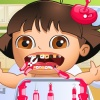 play Baby Lora Tooth Problems