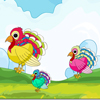 play Colorful Turkey Matching