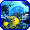 Scuba dive. Hidden objects
